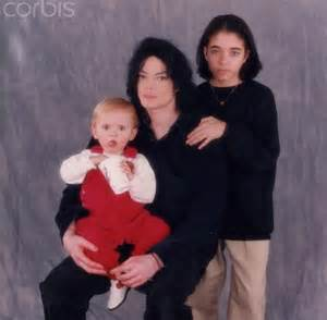 Michael Jackson and Omer Bhatti