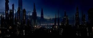 Futuristic Cityscape Rainmeter City Skyline Wallpapers ...