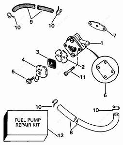 Johnson 1993 8 - J8srletb  Fuel Pump
