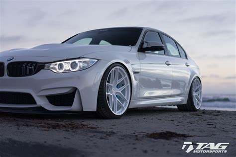 Bmw M3 Modification by All White Bmw M3 Is A Unique Tuning Project Carscoops