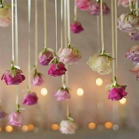 Trend Alert Hanging Flowers Give Your Wedding A Magical