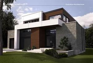 Evolution Architecture Maison Moderne Cr U00e9ation Exclusive E