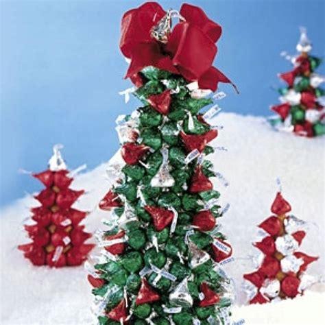 hersheys kiss christmas tree styrofoam cone wrapped