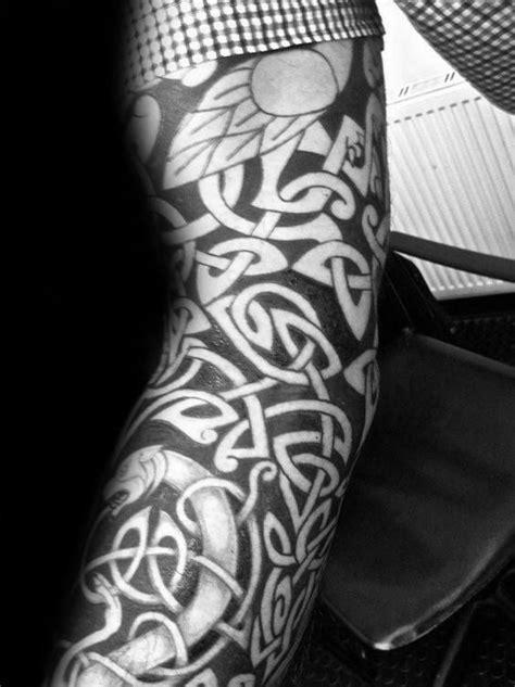 40 Celtic Sleeve Tattoo Designs For Men - Manly Ink Ideas | Sleeve tattoos, Tattoo designs men