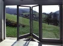 Nettoyage Baie Vitrée Coulissante : baie vitr e pliante coulissante en bois aluminium kapo ~ Edinachiropracticcenter.com Idées de Décoration