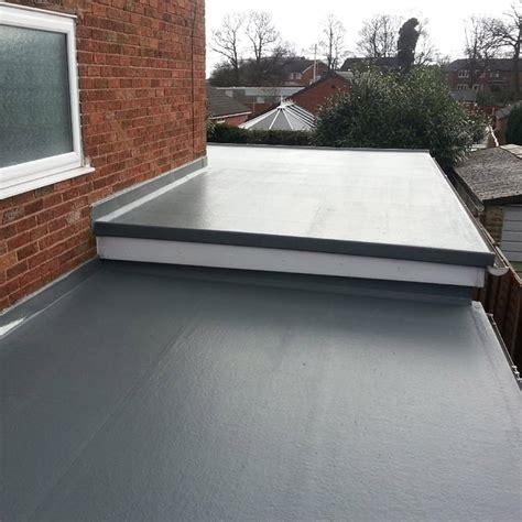 flat roof fibreglass