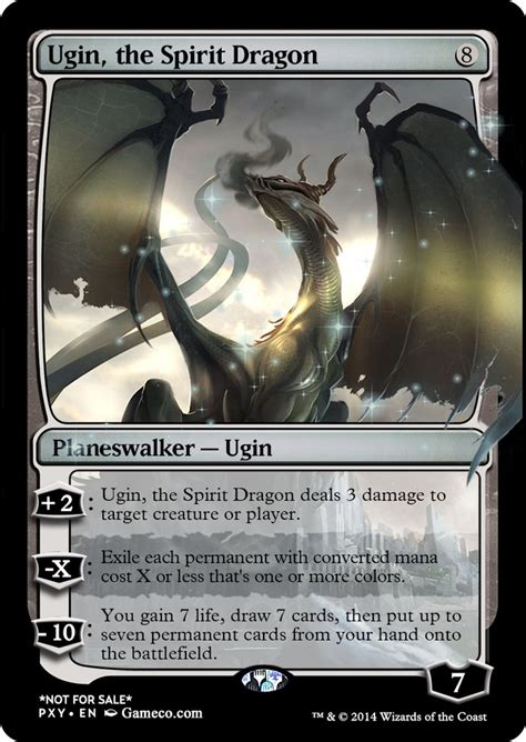 mtg proxy deck builder program ugin the spirit this is the planeswalker from the