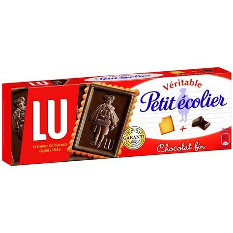 catalogue bruneau bureau gâteaux petit écolier lu chocolat noir paquet de 150 g