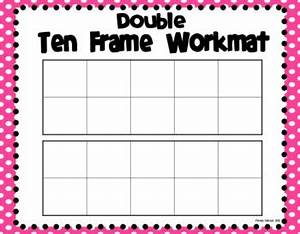 ten frame workmats freebie by primarily speaking by With 10 frame template printable