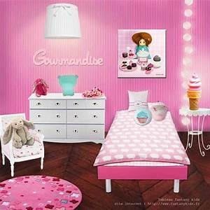 Tableau Chambre Fille : chambre fille rose ~ Teatrodelosmanantiales.com Idées de Décoration