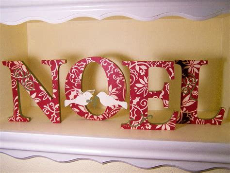 home decor with houston noel decorative letters