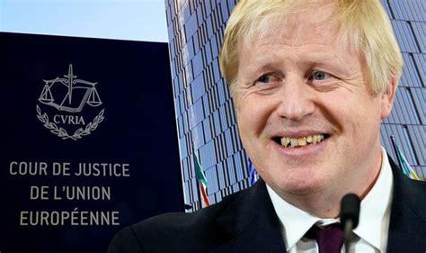 Boris Johnson told EU 'can't sue UK' ahead of conference ...
