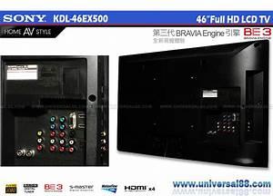 Sony Brav U0131a Lcd Tv Kdl