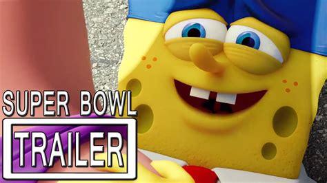 The Spongebob Movie Super Bowl Trailer Official