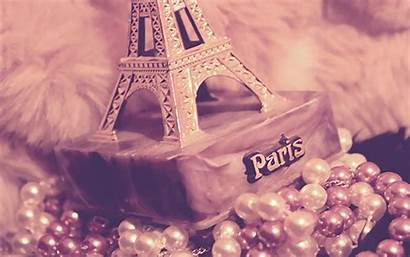 Paris Eiffel Tower Pink Wallpapers Background Girly