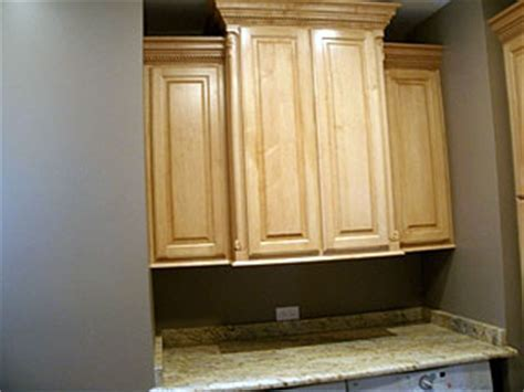 Maple Cabinets with Crown Molding ? Amish Custom Furniture