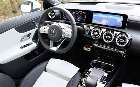 Inside, the cla adopts a modern dashboard design: 2020 Mercedes-Benz CLA: Trying Hard to Stay Relevant - The ...