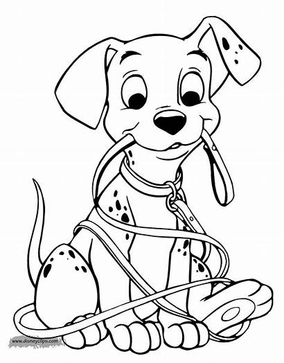 Coloring Pages 101 Dalmatians Puppy Disney Sheets