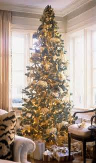 tree decorating with ribbon lynne interiors