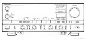 Kenwood Ka-1100d - Manual - Stereo Integrated Amplifier