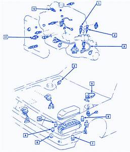 Chevrolet Camaro Z28 1996 Front Electrical Circuit Wiring Diagram