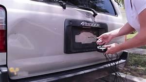 Yada Back Up Camera Installation - Toyota 4runner