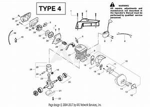 Poulan 2900 Gas Saw Type 4 Parts Diagram For Engine