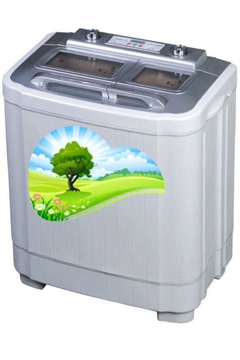 tub machine dual tub washing machine and spin dryer combo