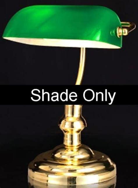 Green Glass Bankers Or Pharmacy Lamp Shade  Lamp Shade Pro