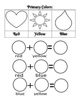 primary colors worksheet by the mermaid teachers pay 474 | original 3804453 1