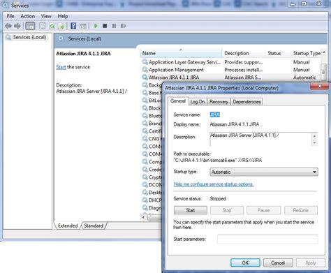 install jira service desk on jira software running jira applications as a windows service atlassian