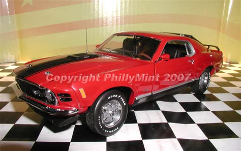 phillymint diecast franklin mint  ford mustang mach