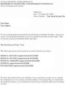 post social security appeal letter sample