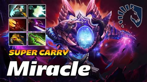 miracle arc warden super strong carry dota  pro gameplay youtube
