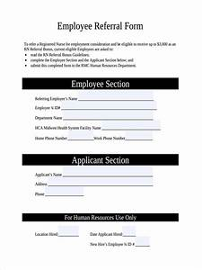 job referral josemulinohouseco With referral document template