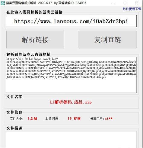 蓝奏云直链傻瓜式解析软件最新下载_28下载站