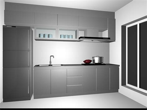 Small kitchen cabinet design 3d model 3dsMax files free