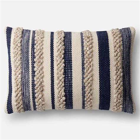loloi magnolia home pillow navyivory pillows