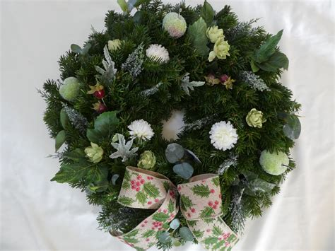frosted fruits christmas wreath scottish christmas trees