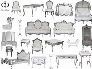 Moderne Barock Möbel : casa padrino barock luxus design wei silber ~ Michelbontemps.com Haus und Dekorationen