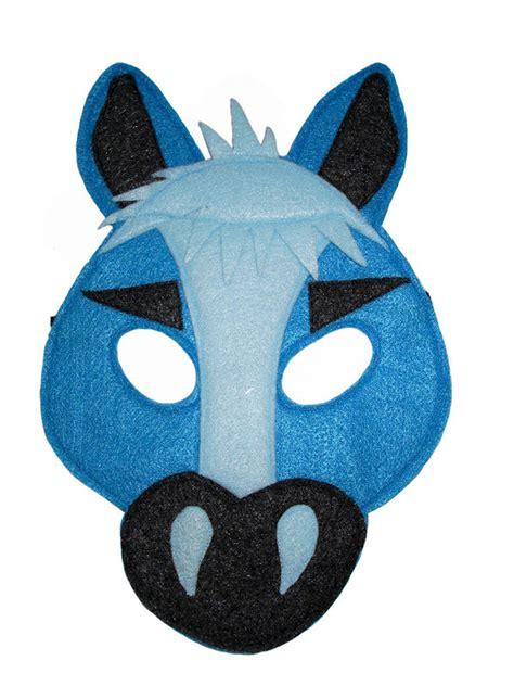 childrens farm barnyard animal horse felt mask magical
