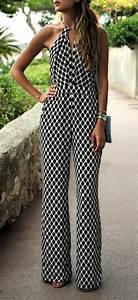 Combinaison Femme Noir Et Blanc : tailleur pantalon femme chic pour mariage pour la mari e et pour l invit e 86 mod les obsigen ~ Melissatoandfro.com Idées de Décoration