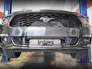 2015-2020 Mustang 2.3L EcoBoost Injen Large Bolt-On Front-Mounted Performance Intercooler FM9200i