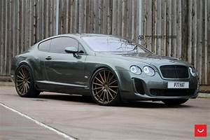 Record Mileage Bentley Continental Gt Supersports Struts Its New Shoes