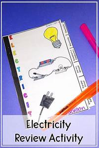 Static And Current Electricity Review Activity And Study