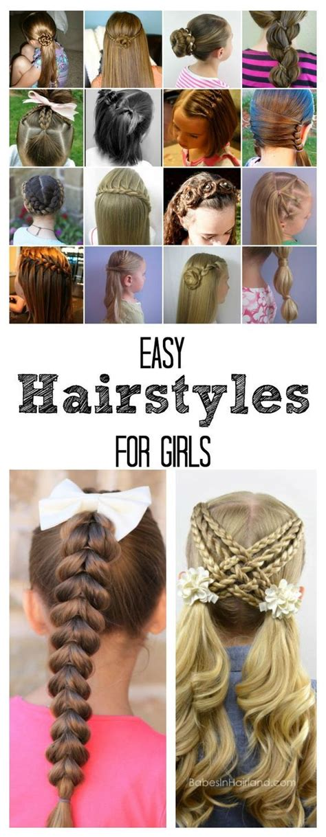 1000 ideas about easy hairstyles for kids on pinterest
