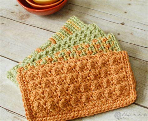 crochet dishcloth patterns crunchy stitch crochet dishcloth pattern petals to picots