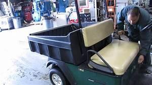 2011 Cushman Commander Utility Golf Cart 48v Hydraulic
