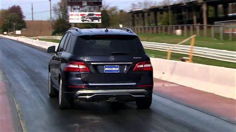 road test  mercedes benz ml bluetec youtube