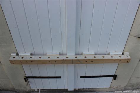 r 233 alisation et pose de volets pour la porte de mon atelier 1 2 histoires de bois